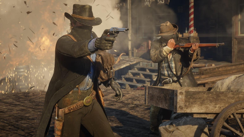 Red Dead Redemption 2 Deux cowboy