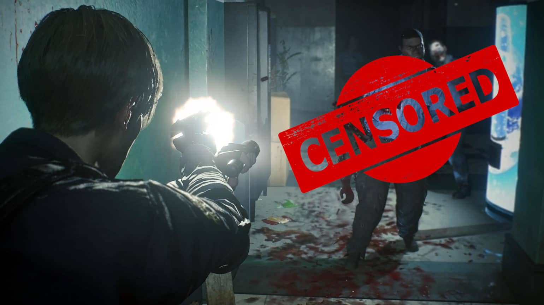 resident evil 2 censure une