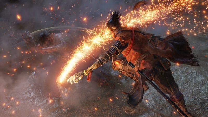 playstation 4 notre samourai prépare un tour de son bras squelettique où l'ennemi ne triomphera pas