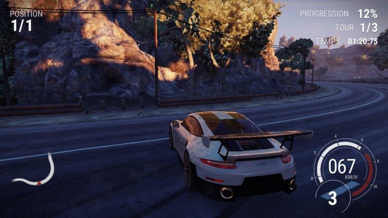 test Gear Club Unlimited 2 - Dérapage Porsche