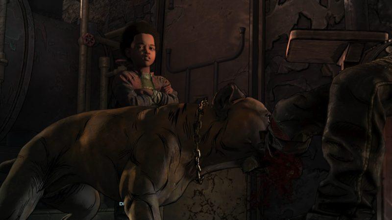 the walking dead : l'ultime saison épisode 3 test innocence brisée torture