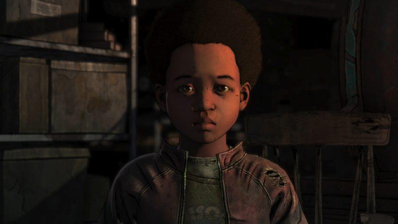 the walking dead : l'ultime saison épisode 3 test innocence brisée alvin junior