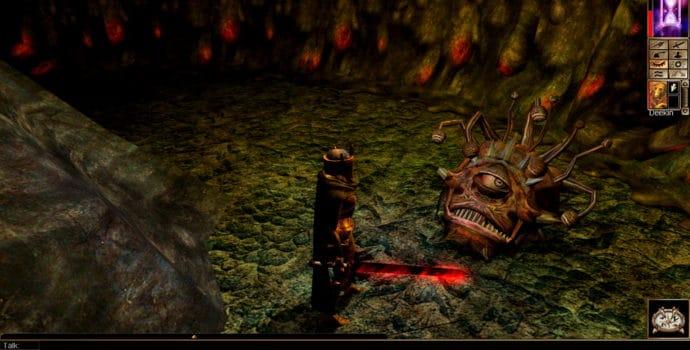 neverwinter nights - monstre héros victoire baldur's gate