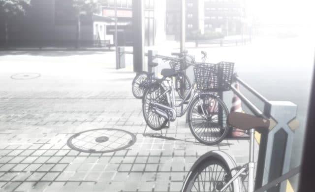 Steins;Gate Elite rue vélos akihabara