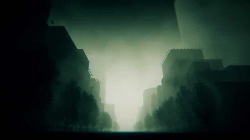 Steins;Gate Elite paysage dark