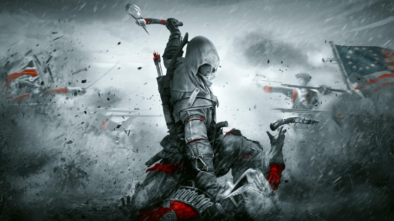 Assassin's Creed III Remastered Connor massacre un anglais