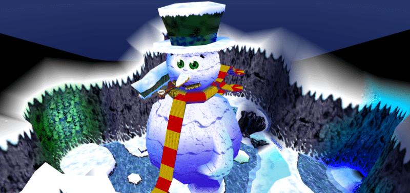 Nintendo Banjo-Kazooie Pic polaire