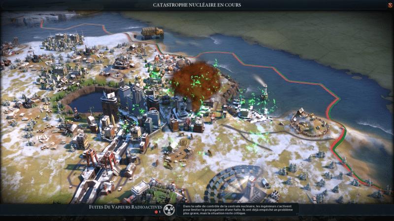 Test civilization VI gathering storm catastrophe nucléaire