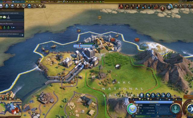 Test civilization VI gathering storm barrage