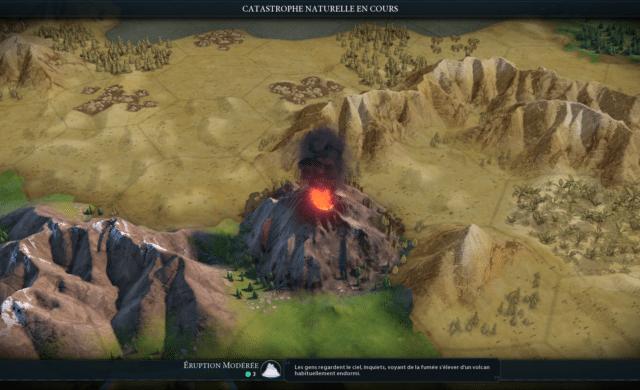 Test civilization VI gathering storm volcan