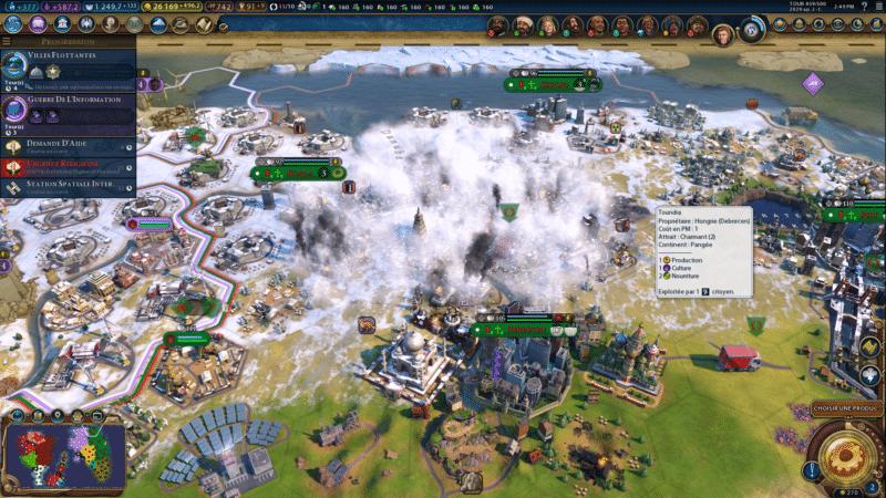Test civilization VI gathering storm blizzard