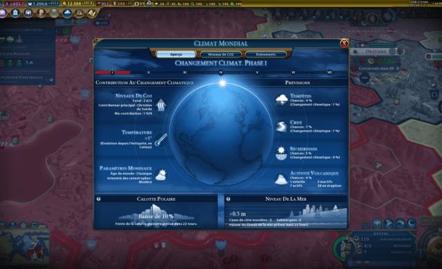 Test civilization VI gathering storm climat
