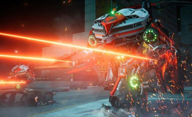 Crackdown 3 robot lasers
