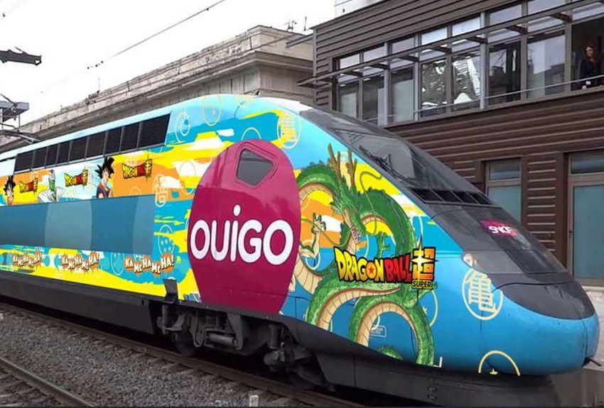 le TGV Dragon Ball Super Un train SNCF x Dragon Ball Super- Broly