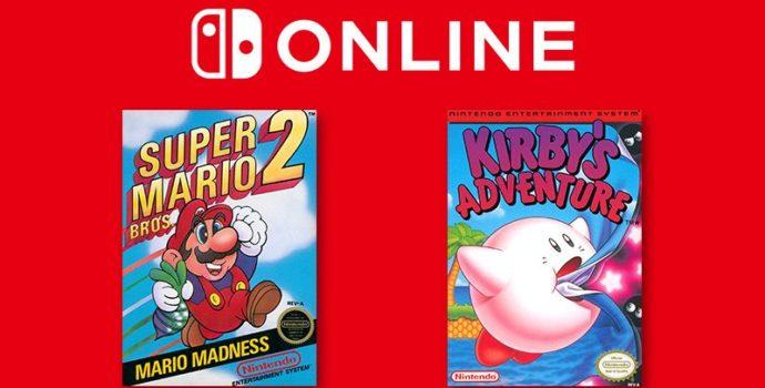 nintendo switch online - kirby's adventure super mario bros 2 kirby kirbys
