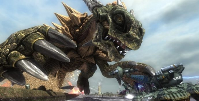 Earth Defense Force 5 dragon
