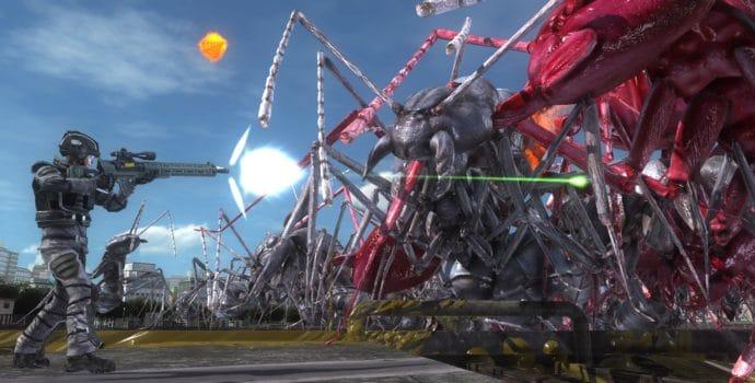 Earth Defense Force 5 fourmis géantes