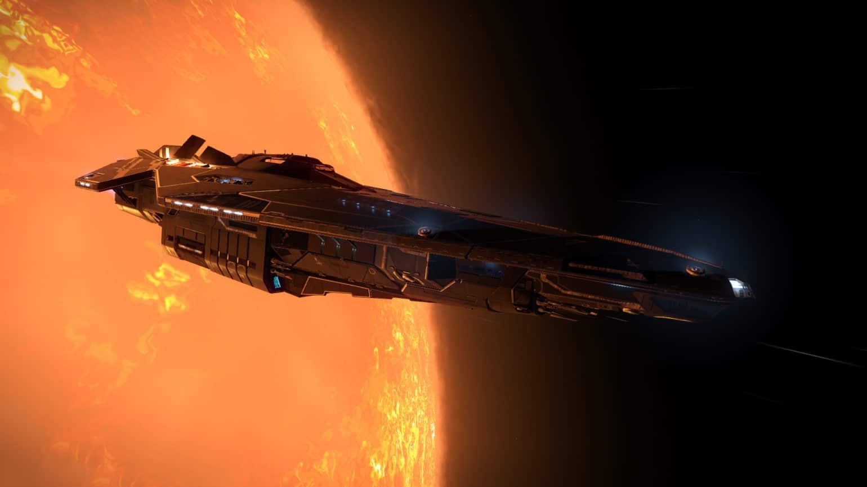 Elite Dangerous vaisseau Anaconda
