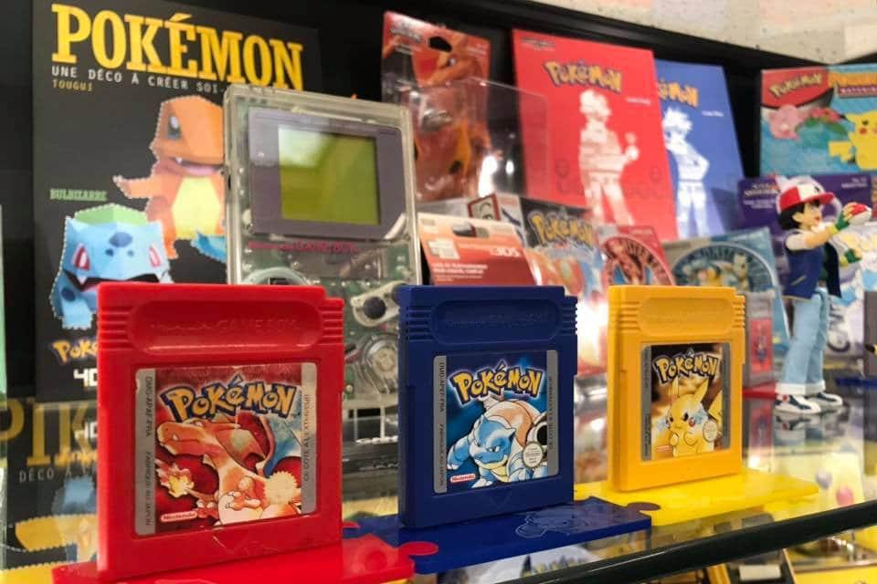 Le Pixel Museum tient une exposition Pokémon