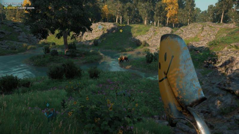 Far Cry: New Dawn - des bisons mutants