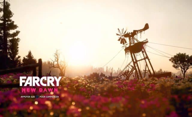 Far Cry: New Dawn - Écran titre