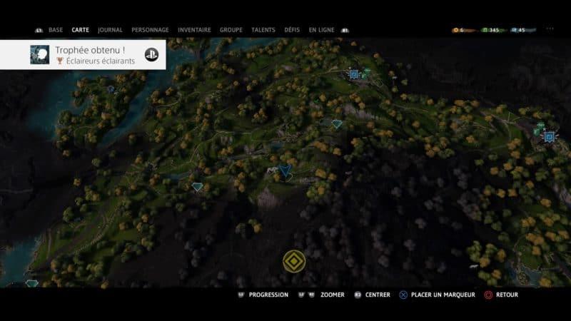 Far Cry: New Dawn - une partie de la carte recyclée