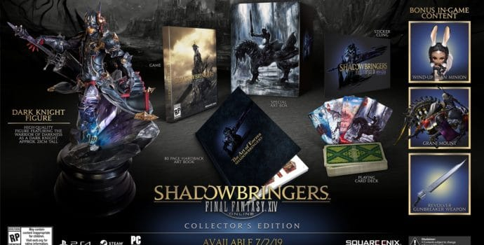 Final Fantasy XIV Shadowbringers - Contenu édition collector