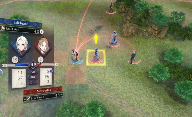 Fire Emblem: Three Houses - Combat