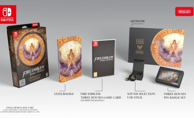 Édition Collector du jeu Fire Emblem: Three Houses