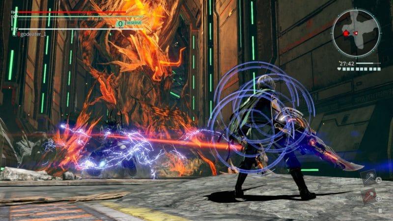 God Eater 3 - Aragami de feu
