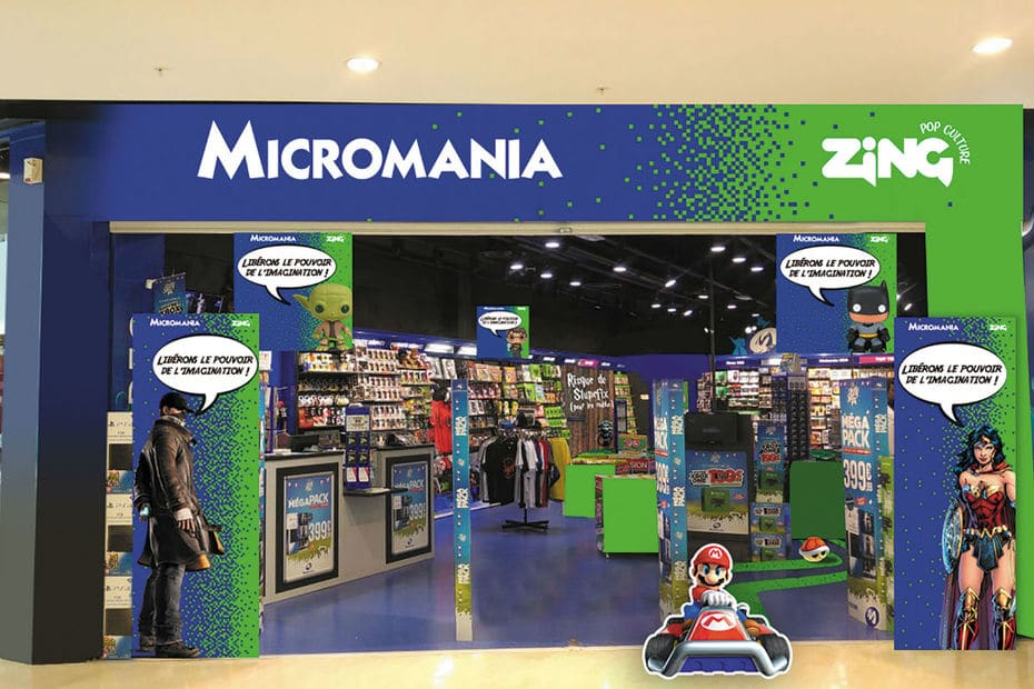 Magasin Micromania