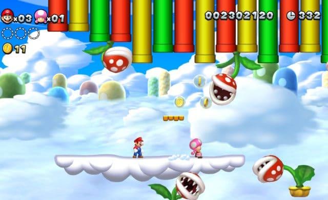 New Super Mario Bros U à 2 joueurs