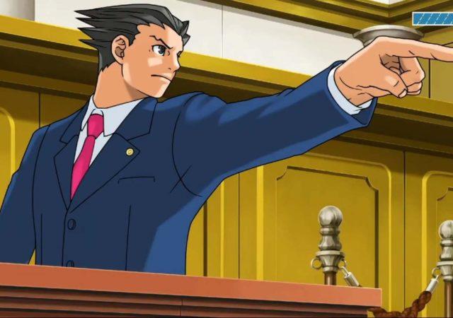 Phoenix Wright: Ace Attorney Trilogy - Phoenix pointe du doigt