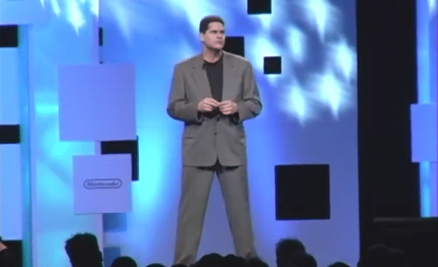 Nintendo of America Reggie - Même ses postures en imposaient