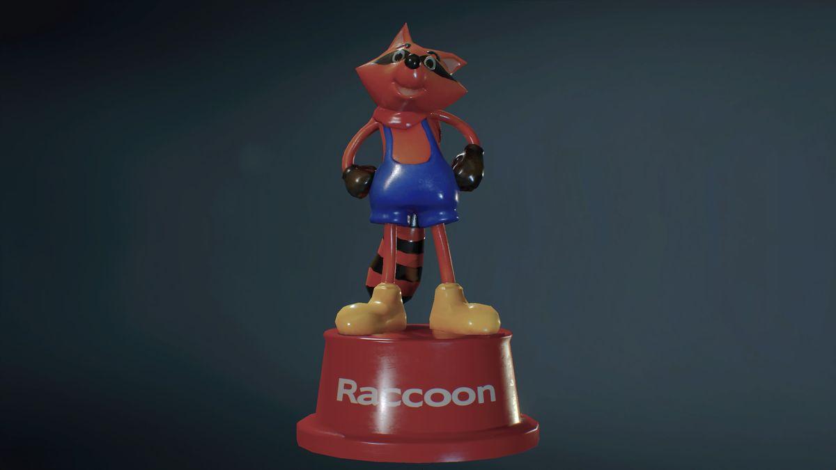 Resident Evil 2 raccoon