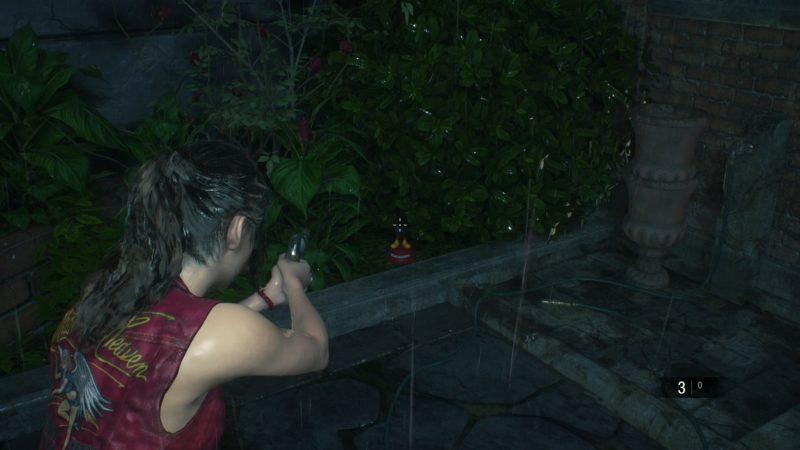 soluce resident evil 2 mister raccoon localisation