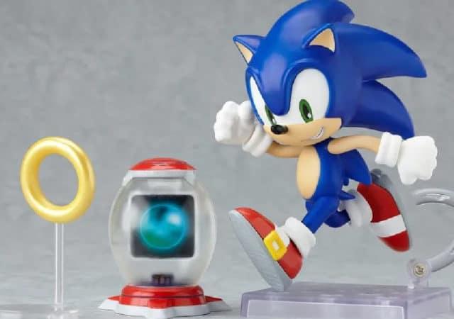 Joeuts Sonic figurine articulée