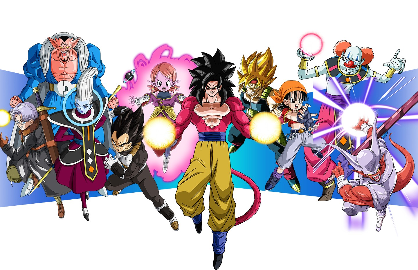 Super Dragon Ball Heroes World Mission Quelques personnages