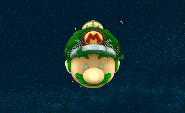 Nintendo Super Mario Galaxy Vaisseau Mario