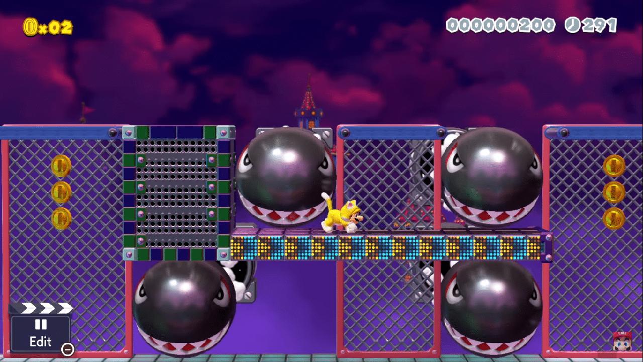 Super Mario Maker 2 Mario Cat