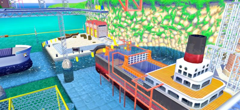 Nintendo Super Mario Sunshine Port Ricco