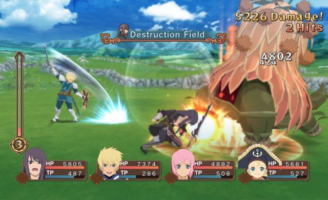 Tales of Vesperia Definitive Edition - Combat contre un Tréant