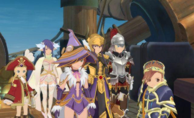 Tales of Vesperia Definitive Edition - Yuri et ses compagnons