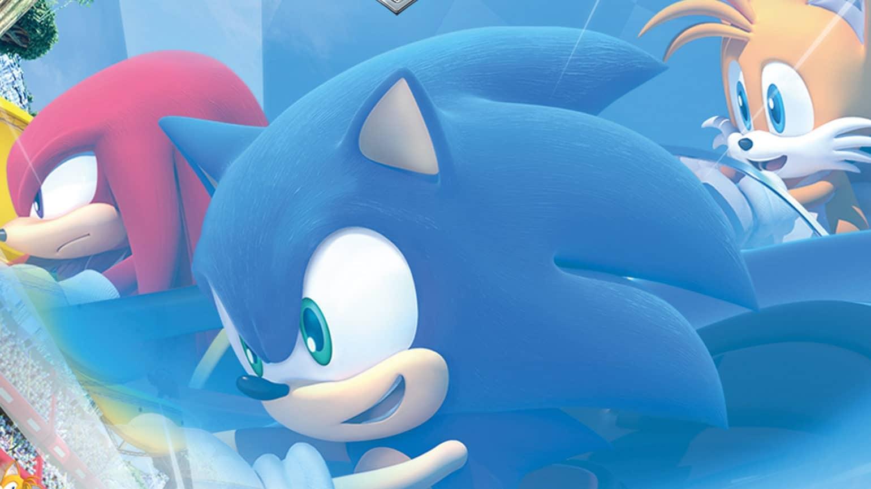 Team Sonic Racing - course