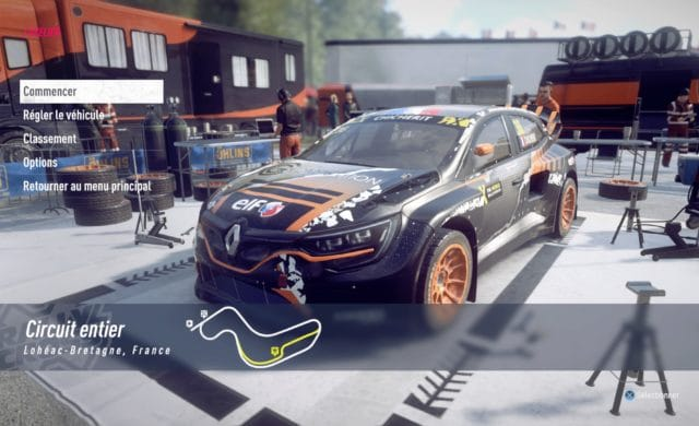 Test DiRT Rally 2.0 - Megane RS RX