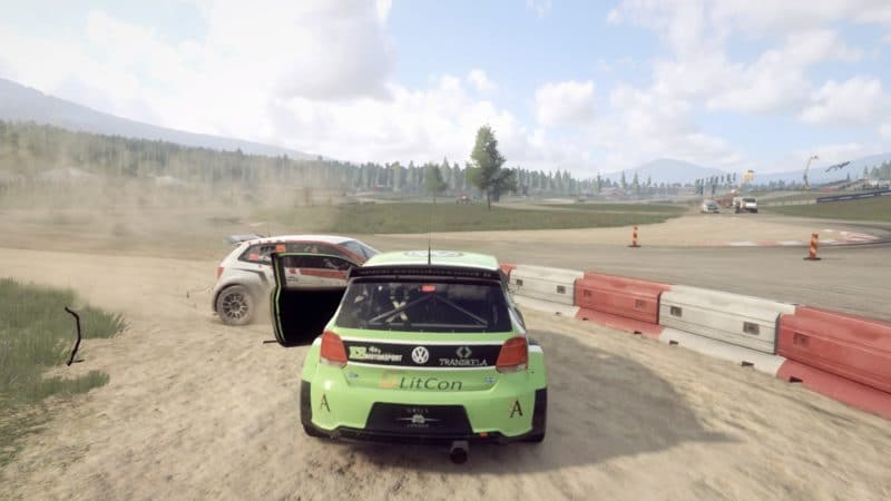 Test DiRT Rally 2.0 - Accident rallycross