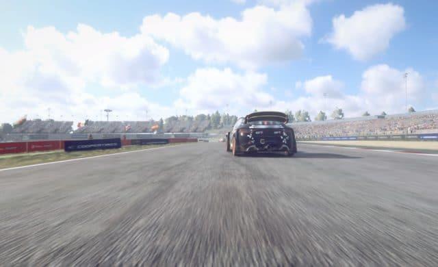 Test DiRT Rally 2.0 - Vue ras du sol