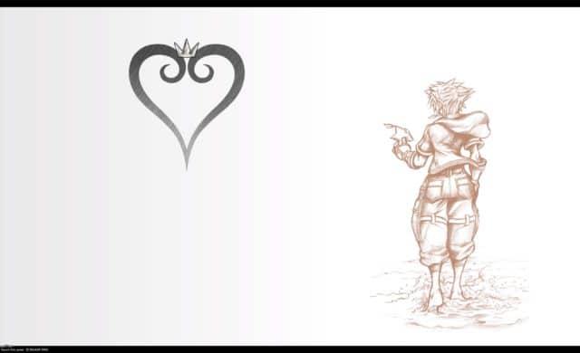 Kingdom Hearts III - écran titre