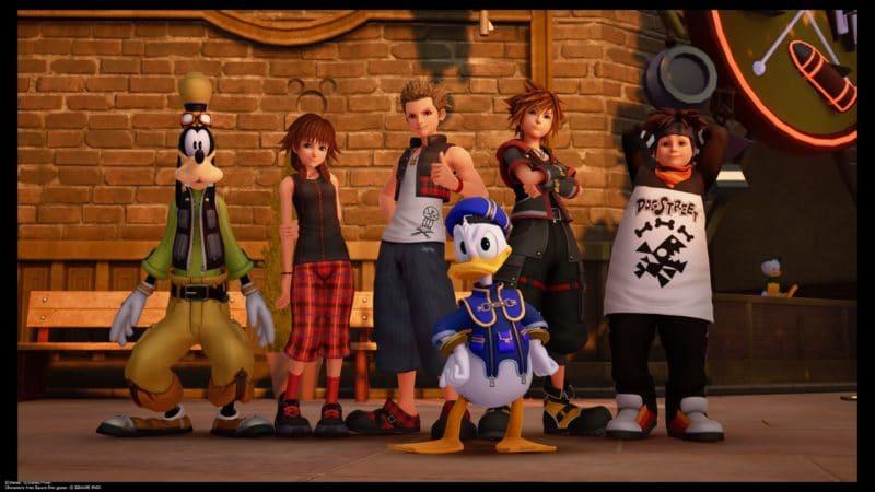 Kingdom Hearts III - Photo de groupe
