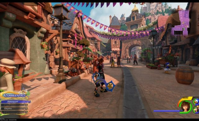 Test Kingdom Hearts III - Monde de Raiponce